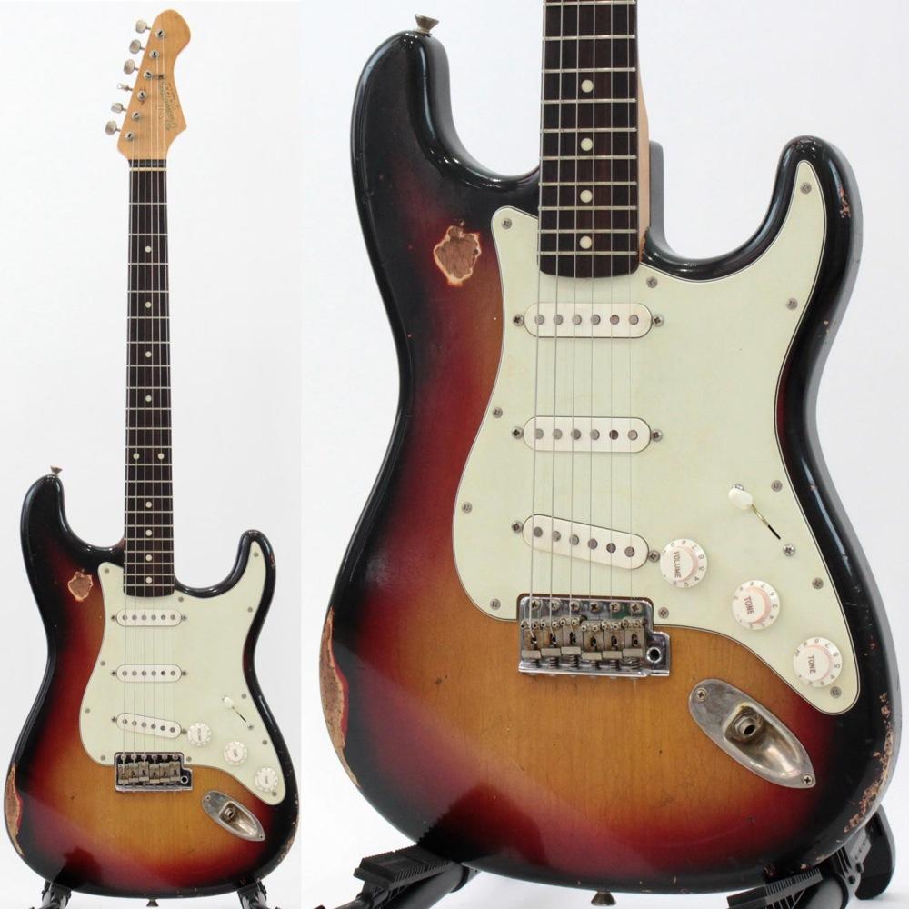 Bluesman Vintage '62 Sedan 3Tone Sunburst Heavily Aged エレキギター