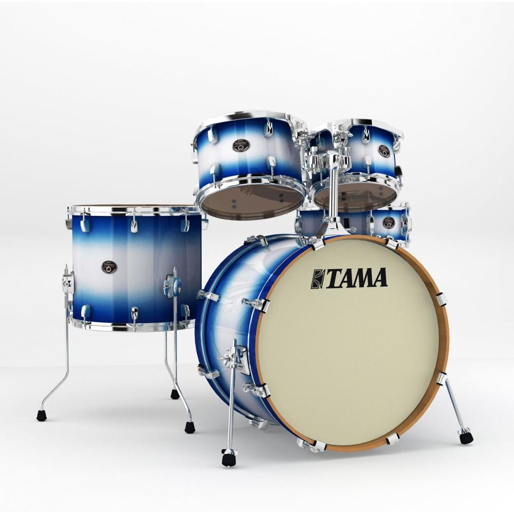 "TAMA VP52KRS-JTB Silverstar 22"" バスドラムシェルキット ドラムセット"