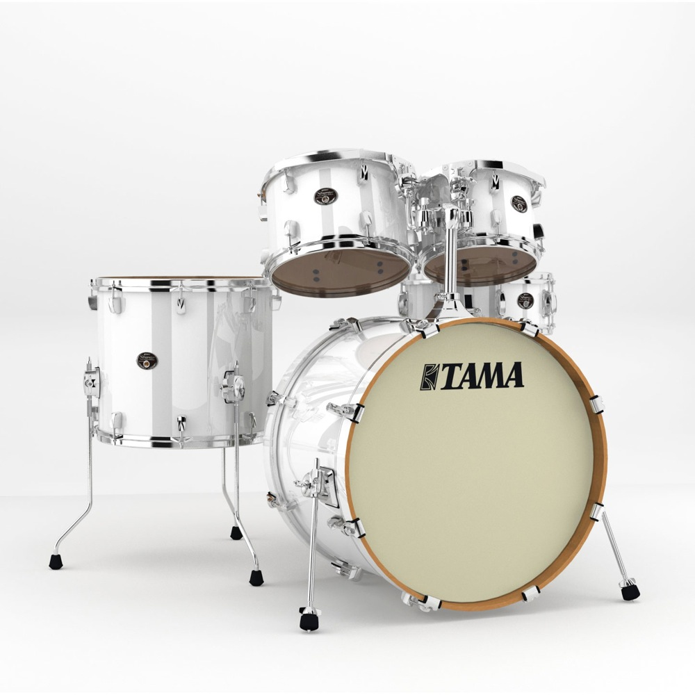 "TAMA VP52KRS-PWH Silverstar 22"" バスドラムシェルキット ドラムセット"