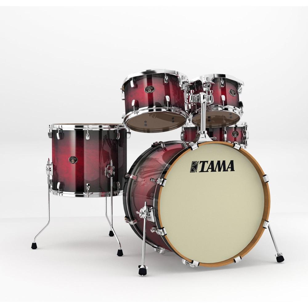 "TAMA VP52KRS-TRB Silverstar 22"" バスドラムシェルキット ドラムセット"