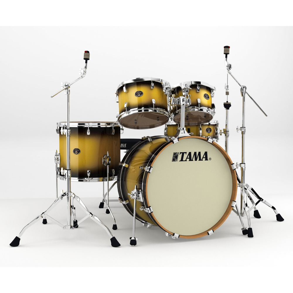 "TAMA VP52KRM-VGD Silverstar 22"" バスドラムシェルキット+ハードウェア ドラムセット"