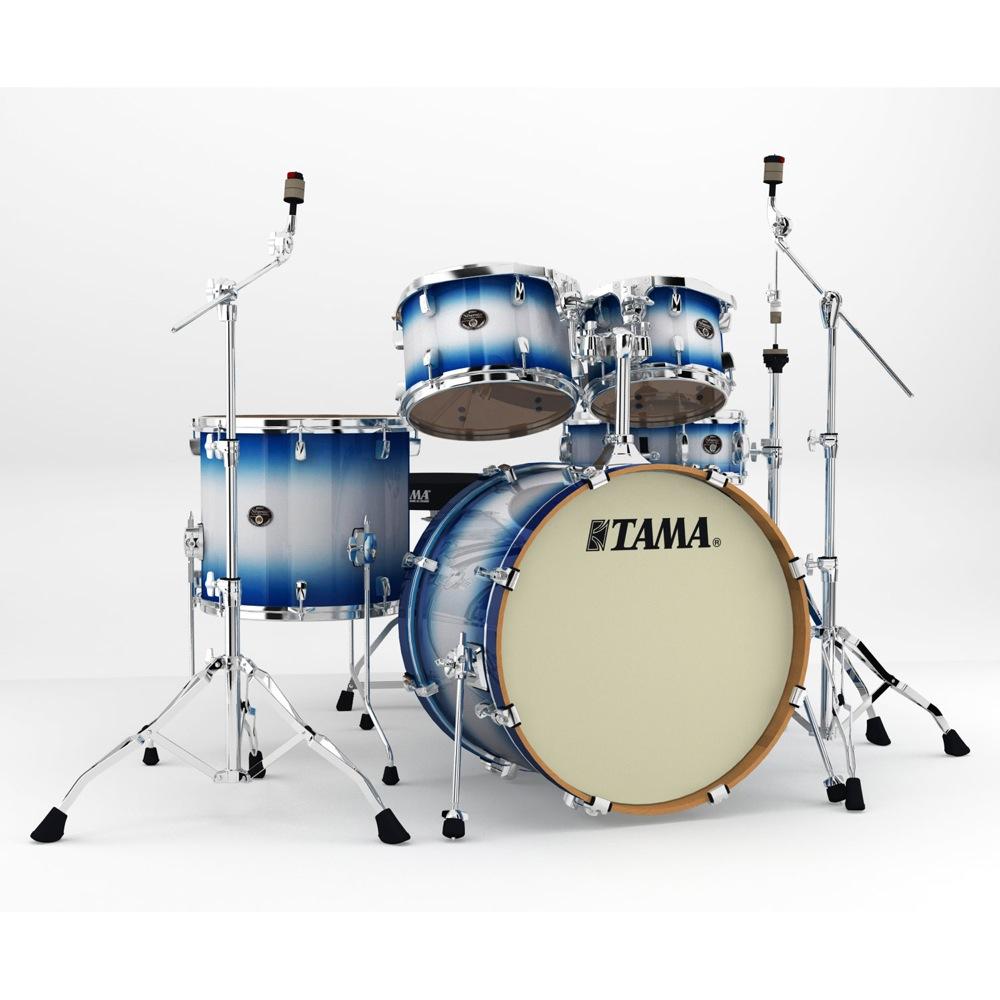 "TAMA VP52KRM-JTB Silverstar 22"" バスドラムシェルキット+ハードウェア ドラムセット"