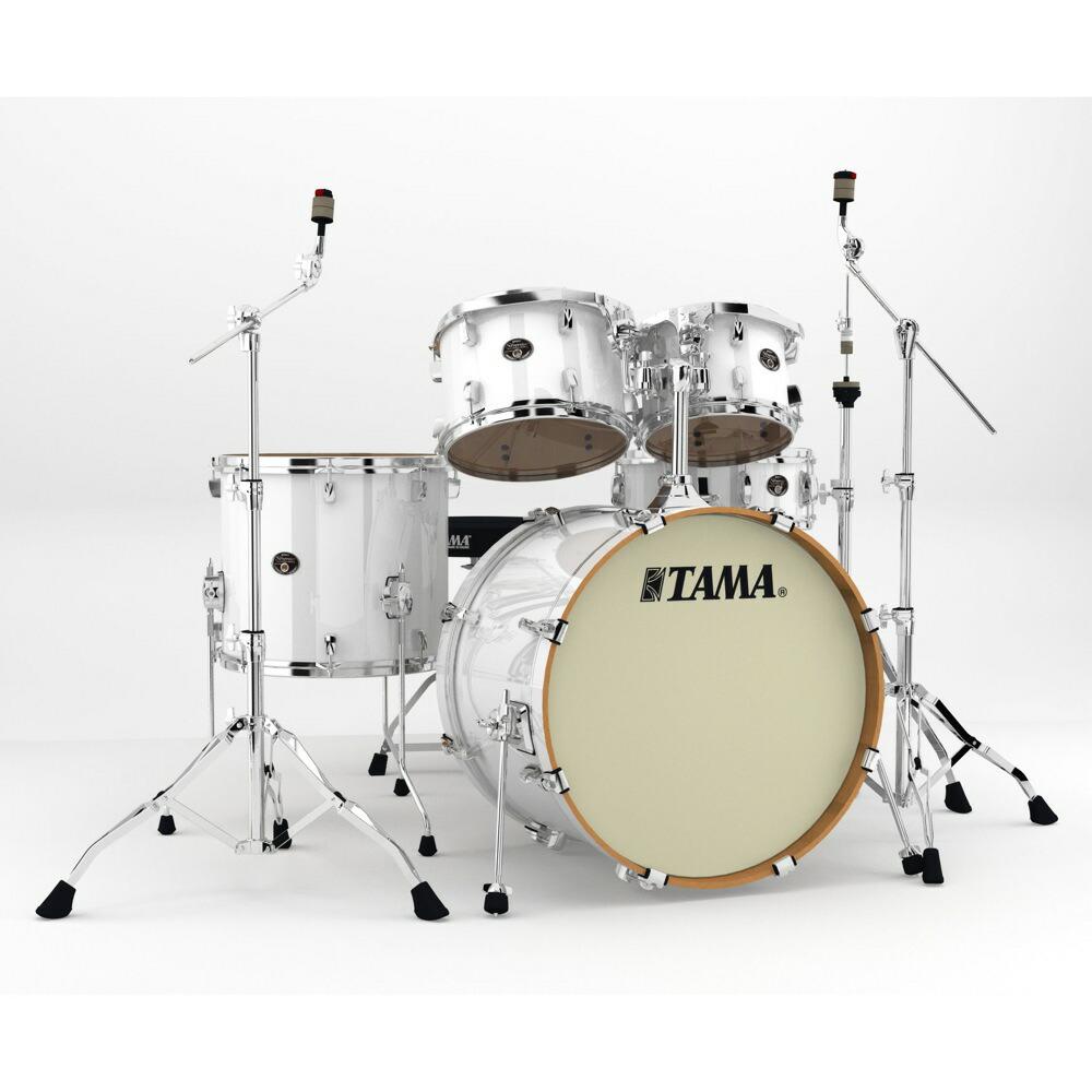 "TAMA VP52KRM-PWH Silverstar 22"" バスドラムシェルキット+ハードウェア ドラムセット"