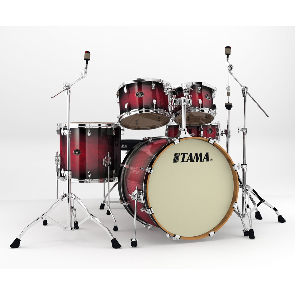 "TAMA VP52KRM-TRB Silverstar 22"" バスドラムシェルキット+ハードウェア ドラムセット"