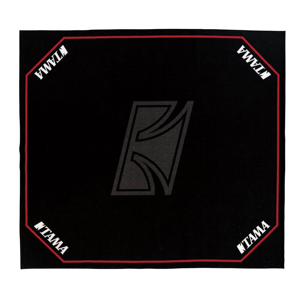 TAMA TDR-TL ブラック TAMAロゴ ドラムセッティングカーペット