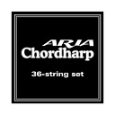 String set for exclusive use of the set string aria cord harp for ARIA cord harps