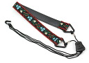 KAMIYA NO1200/BK Ukulele strap faculty floral