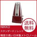 NIKKO standard / red metronome Nikko, 1 standard pendulum metronome