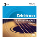 Great guitar strings D'Addario D ' Addario EJ16-3D acoustic guitar chords / 3 combo pack 3 set enters in one package