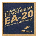 MORRIS EA20L acoustic guitar chord Maurice フォスファーブロンズ acoustic-electric guitar strings