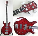 "EDWARDS E-J-140TVB FIRE RED LUNA SEA ""J"" model electric bass Edwards LUNA SEA ""J"" signature bass"