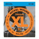 D ' Addario EXL110 electric guitar strings D'Addario electric guitar strings 10-46 strings