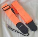 Dimarzio DD3100N Orange guitar strap DiMaggio original reinforcement nylon guitar strap orange