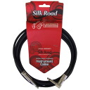 SILK ROAD LG104-3A BK GUITAR CABLE/INSTRUMENT CABLE 3M LS PLUG