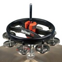 RhythmTech RT7420 hat-trick G2 NI Hi-Hat tambourine for Hi-Hat tambourine nickel 1 jingle