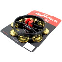 RhythmTech RT7421 hat-trick G2 brass Hi-Hat tambourine for Hi-Hat tambourine brass 1 jingle