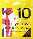R10 ROTOSOUND Roto Yellows Regular electric guitar chords ROTOSOUND electric guitar strings 10-46 gauge regular