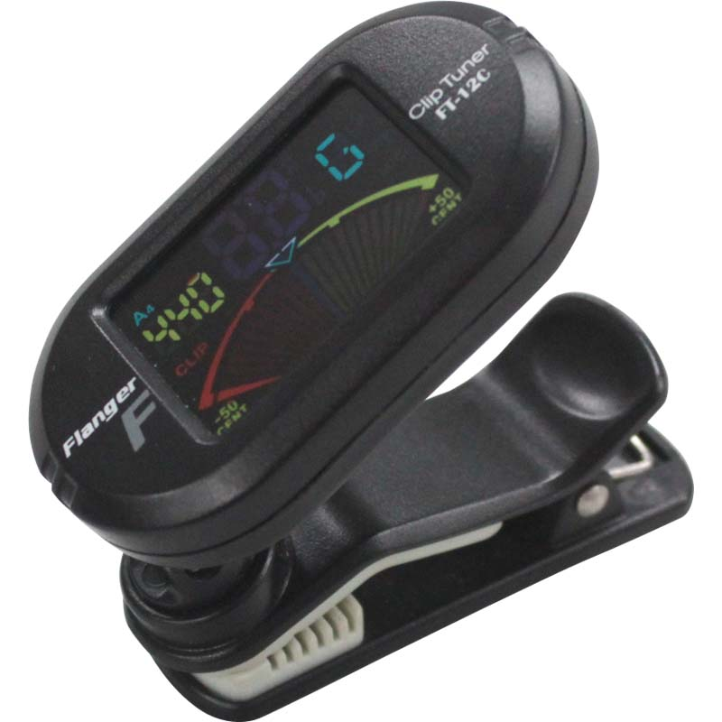 Flanger FT-12C Clip-on Chromatic Tuner ���顼�ǥ����ץ쥤 ����åץ��塼�ʡ�