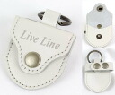 Leather pick case where an LIVE LINE LPC1200WH leather pick case live line is stylish