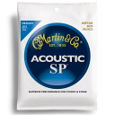 MARTIN MSP3200 80 / 20 Bronze Medium acoustic guitar strings x 3 SET