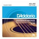 D'Addario EJ16/Phosphor Bronze/Light X 5SET acoustic guitar string Dadaism Rio folk guitar string light gauge