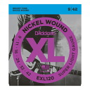D ' Addario EXL120×5 SET electric guitar strings D'Addario electric guitar-string super light gauge