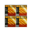 Quint for set string vision half fraction violins for Thomastik VISION half size fraction violins, A line, D string, set of the G-string