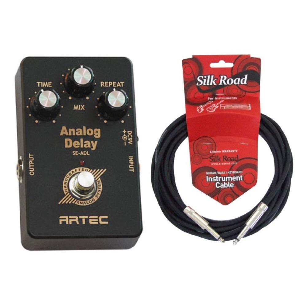 ARTEC SE-ADL アナログディレイ 5Mシールドケーブル付き