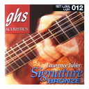 GHS LJ30L LAURENCE JUBER Signature Bronze acoustic guitar string X 6SET GHS acoustic string sig nature model 6SET