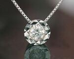 4月の誕生石ネックレス ダイヤモンド ネックレス・ペンダント