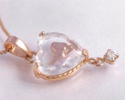 キュービックジルコニア ダイヤモンド ペンダント