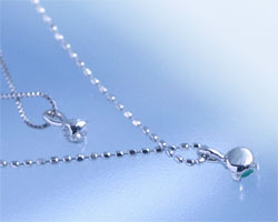 ダイヤモンド K10ピンクゴールド ネックレス