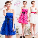 Big Blue & pink & white parties dots wedding mini dress party dress size waist Ribbon short dress polka dot one piece yj2512