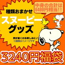 What arrives Snoopy lucky bag ★ contents ⇒ entrusting you; fun ♪ peanut character miscellaneous goods hard? 6,400 yen equivalency is 3,240 yen! ◆During super sale precedent distribution!