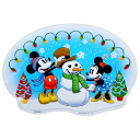 Mickey & mini 《 Christmas 》 die cut BIG sticker ☆ disney fancy goods mail order ☆ / cinema collection ◆ up to 14 times! To 12/7AM9:59