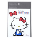 Hello kitty ◎ die cut sticker ☆ sanrio fancy goods mail order ☆ / cinema collection◆