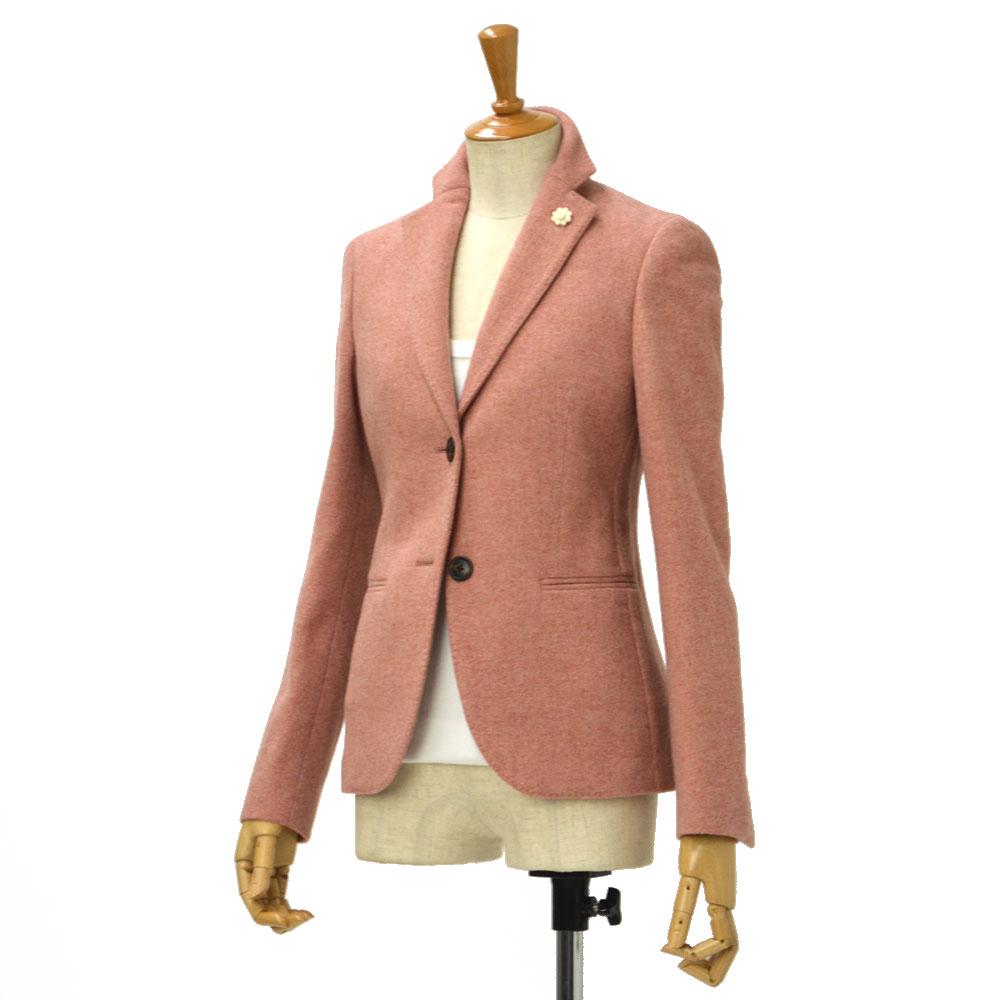 LARDINI【ラルディーニ】ウールテーラードジャケット LAVANDA Q/D7503/40 wool PINK(ピンク)