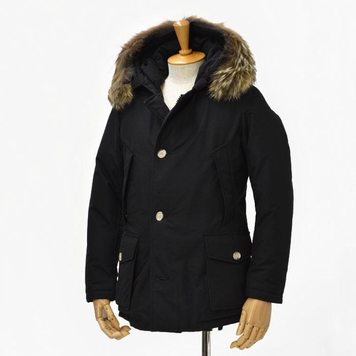 WOOLRICH【ウールリッチ】ダウンジャケット ARCTIC PARKA ML WOCPS1985 cotton nylon NEW BLACK(ブラック)