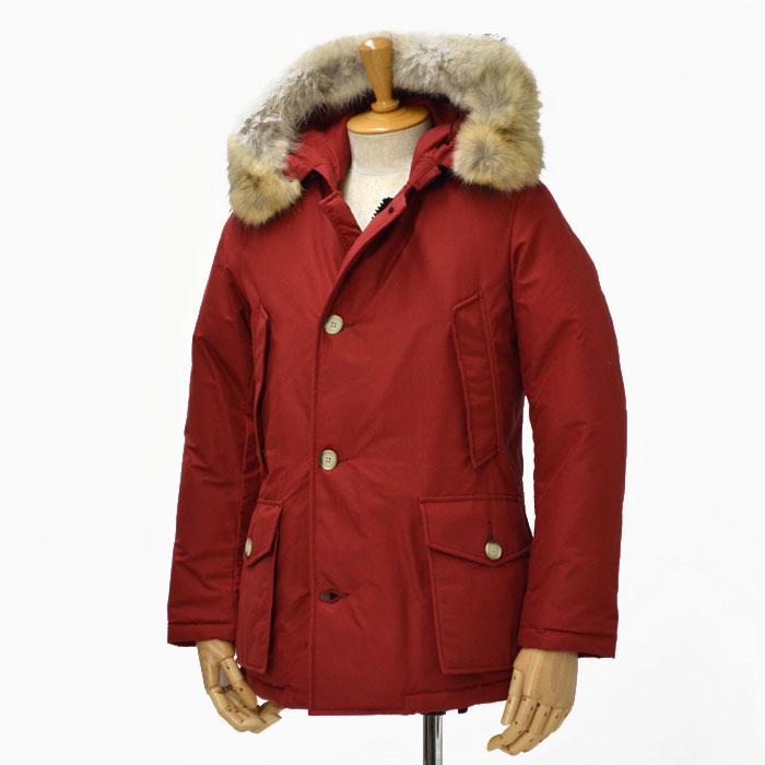 WOOLRICH【ウールリッチ】ダウンジャケット ARCTIC PARKA ML WOCPS1985 cotton nylon BOLD RED(レッド)