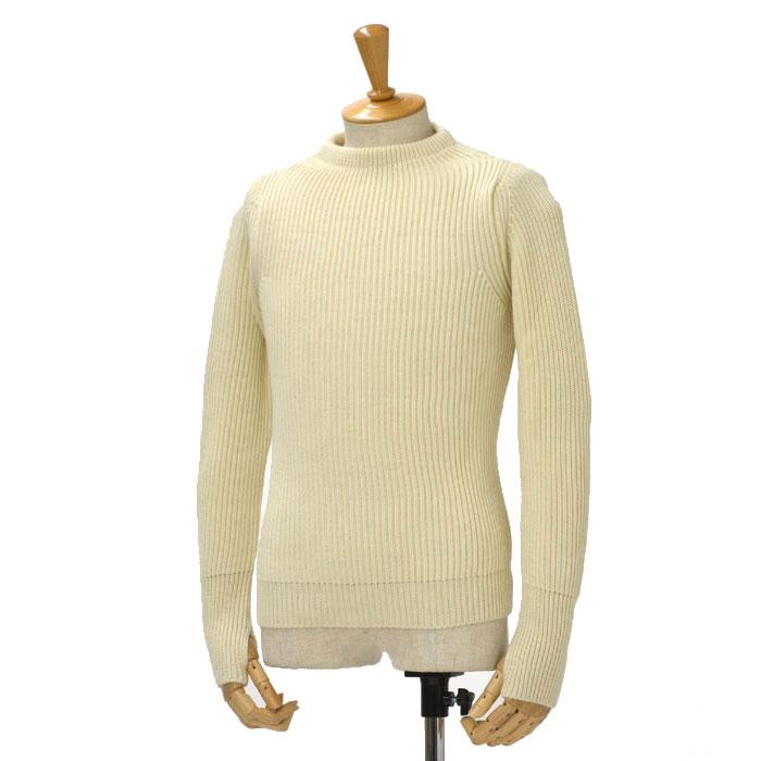 ANDERSEN-ANDERSEN【アンデルセンアンデルセン】クルーネックニット AD-002 CREW NECK wool OFF WHITE(オフホワイト)