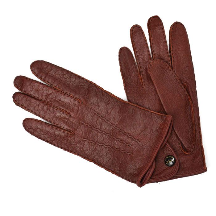 DENTS【デンツ】手袋/グローブ 15-1043 KIRSH Peccary&No lining(ボルドー ペッカリー)
