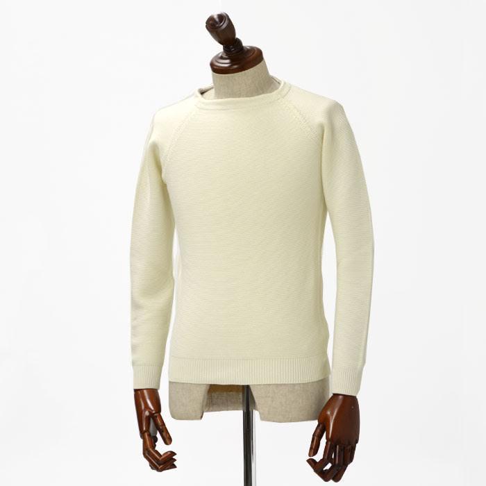 ZANONE【ザノーネ】【春夏】クルーネックカットソー 811652 ZY338 Z3372 cotton WHITE ( コットン ホワイト)