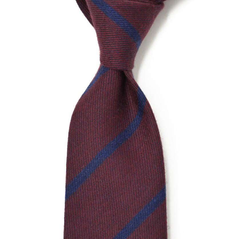 人手工制作领带