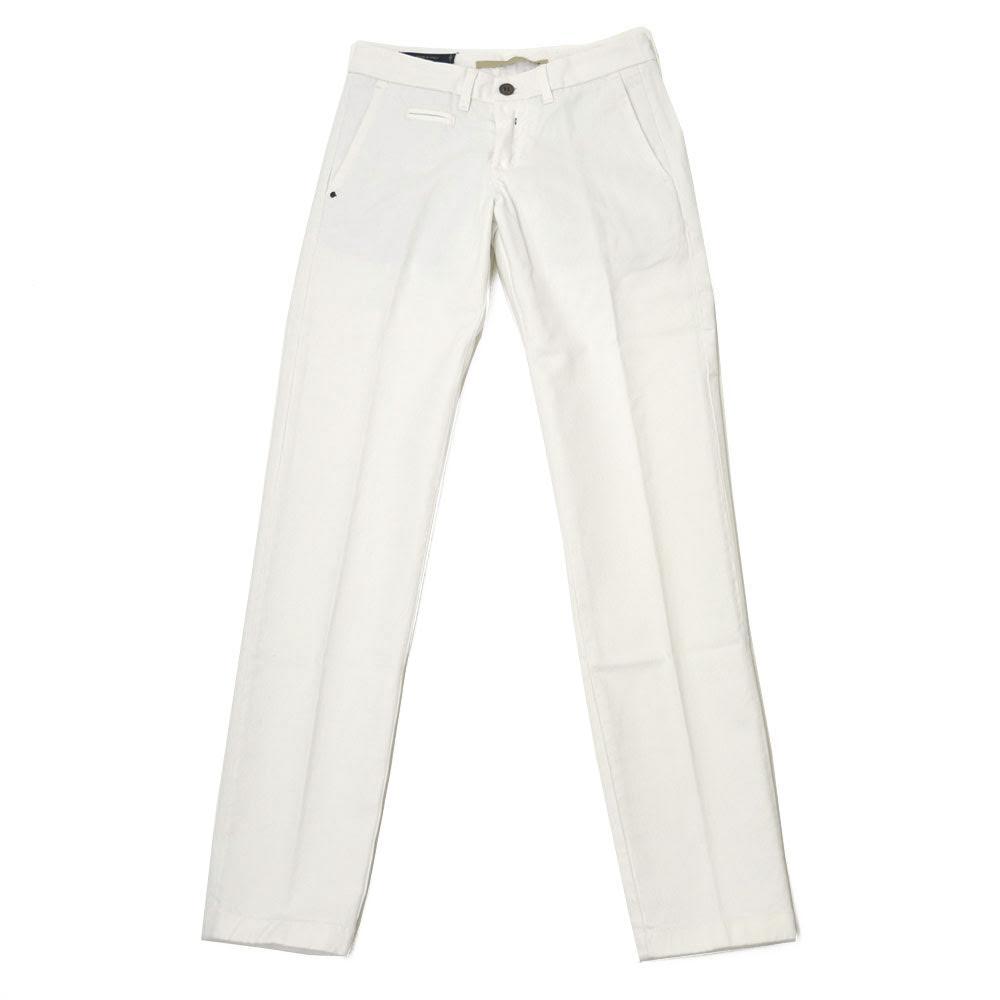 C+【シープラス】【秋冬】コットンパンツ PBZ1/RIDMARK/Z 0088/0000 cotton strech WHITE(コットン ストレッチ ホワイト)