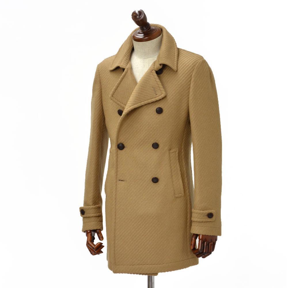 TAGLIATORE【タリアトーレ】【秋冬】 ロングPコート CHARLIE 34UIC135 A1384 virgin wool CAMEL (ウール キャメル)