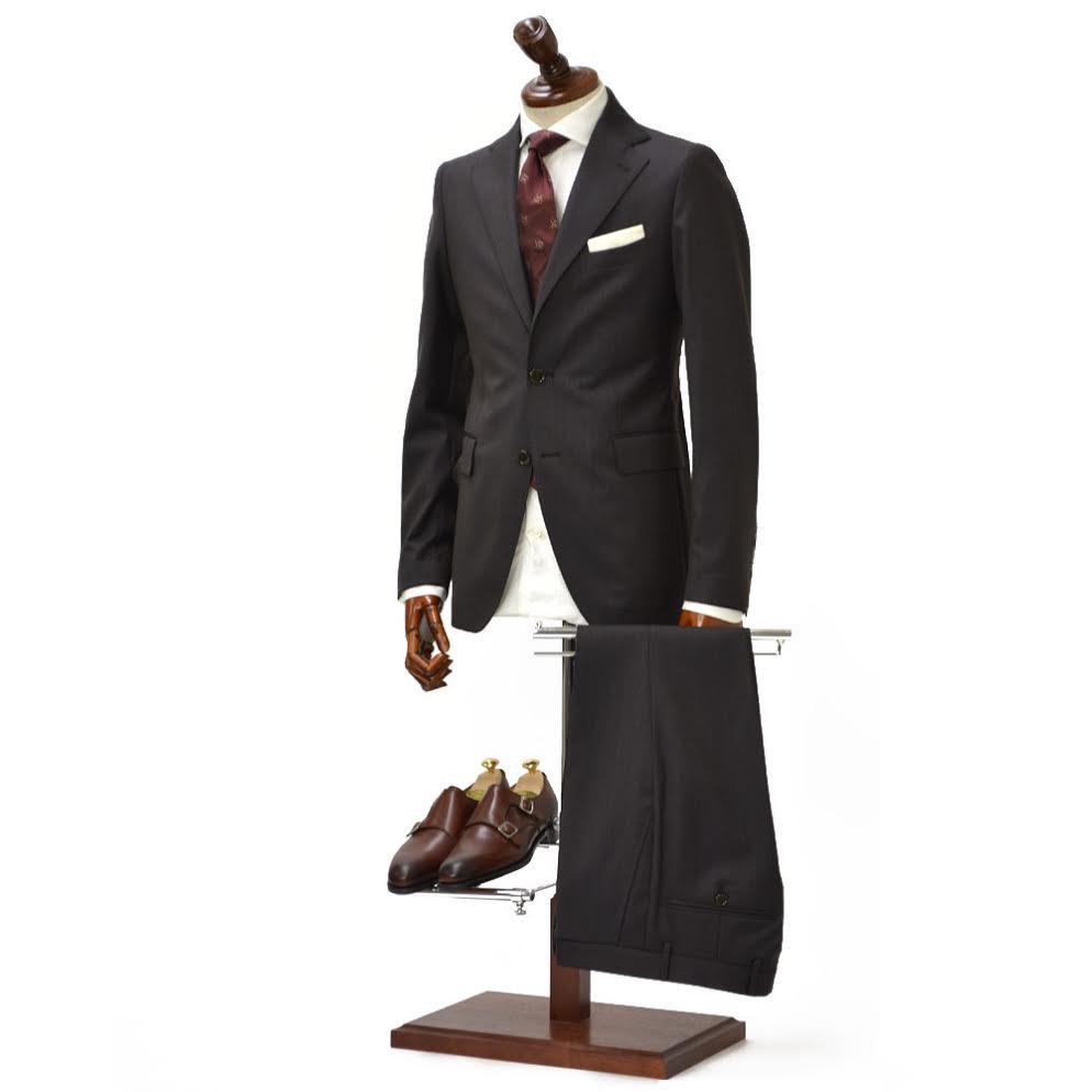 TAGLIATORE【タリアトーレ】シングルスーツ 2SVJ22B01 07UEA133 M3312 VESVIO ヴェスビオ ウール シルク ブラウン