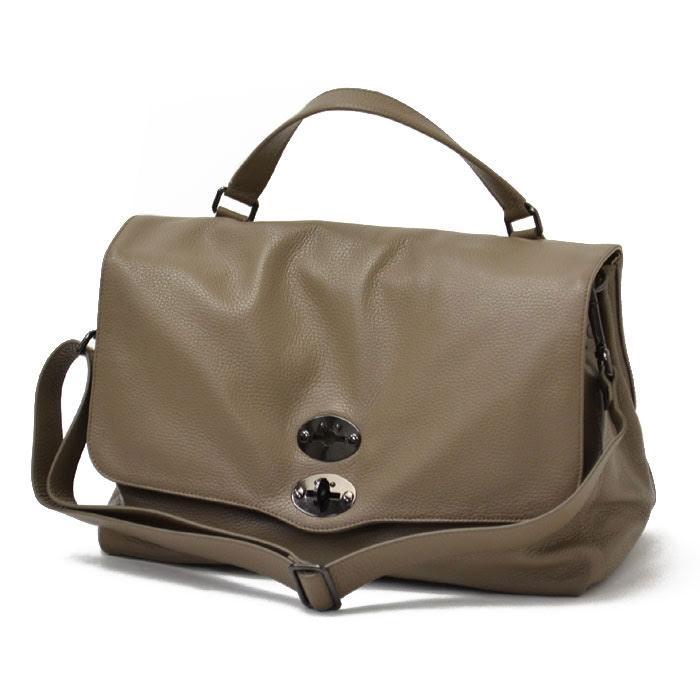 【送料無料】ZANELLATO【ザネラート】ワンハンドルバッグ POSTINA L 36041-50 leather TAUPE(レザー トープ)