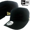 New era Cap WM01 series Black / metallic gold New Era Work Cap WM01 Series Black/Metallic Gold