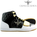 Creative recreation Cesario cgalow Womens black / white / metallic gold Creative Recreation WOMENS Black/White/Metallic Gold