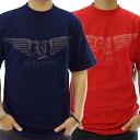 リッチヤング RY-SU08-09 SS T shirt peacoat & タンゴレッド RICH YUNG RY-SU08-09 S/S TEE Peacoat Tango Red